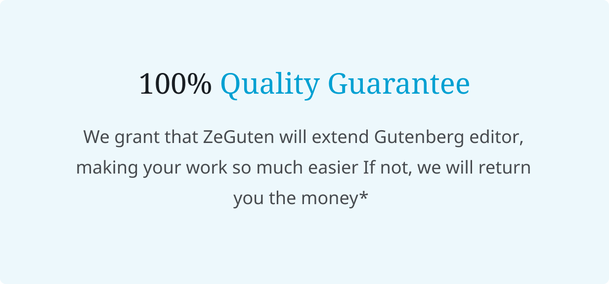 ZeGuten — Blocks for Gutenberg - 8